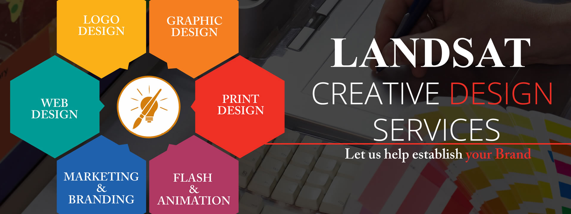 <p>We provide fresh thinking for your business. We take an idea and make it smarter, dressing your business with design and print solutions.</p>